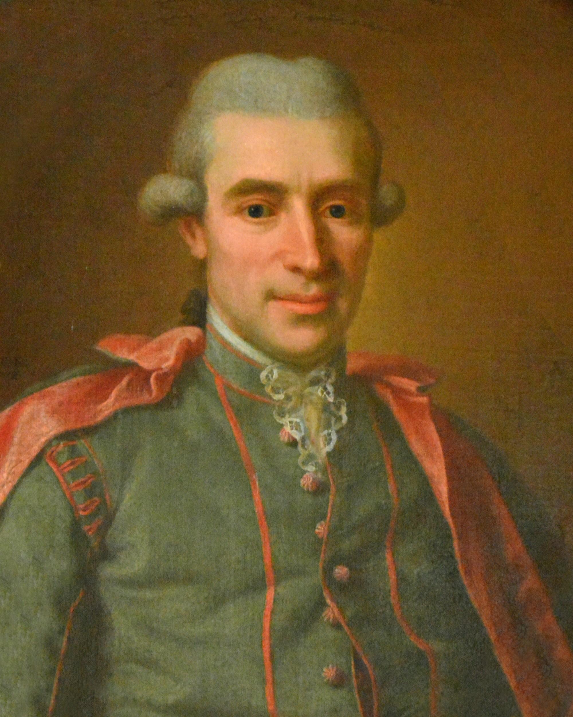Retrato de Torbern Olof Bergman (1735-1784). Fonte da imagem: Wikipedia. química orgânica