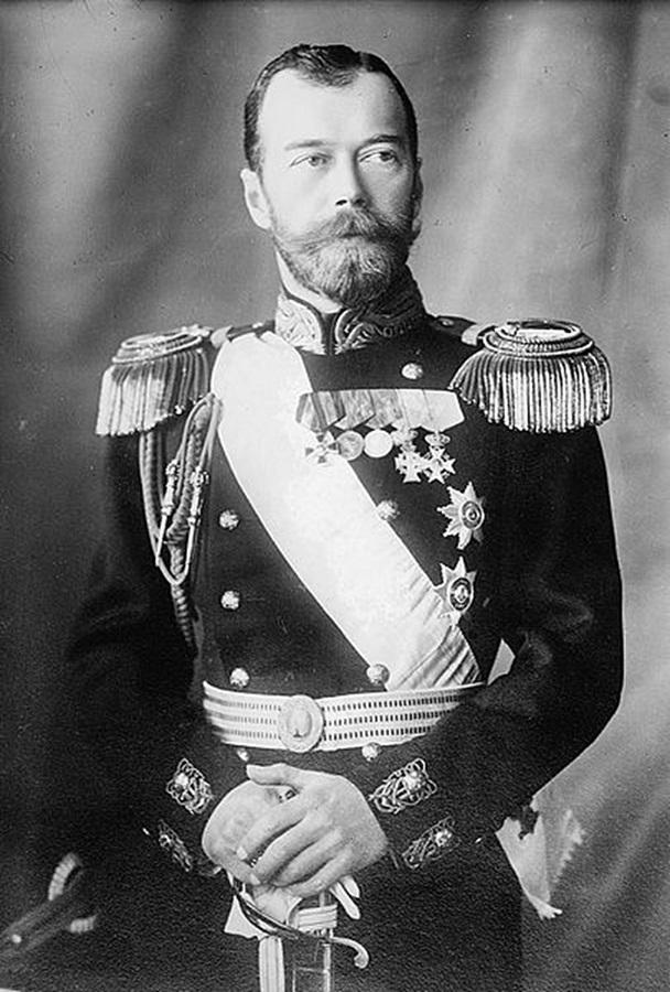 Nicolau II - Revolução Russa