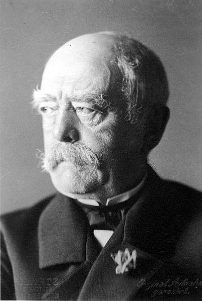 expansionismo alemão - Otto Von Bismarck
