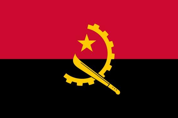 Bandeira de Angola - Guerra Fria na África