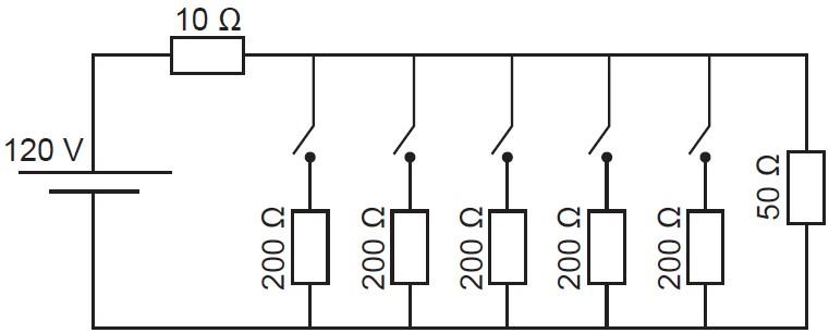 Circuito elétrico - simulado