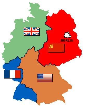 divisão da Alemanha