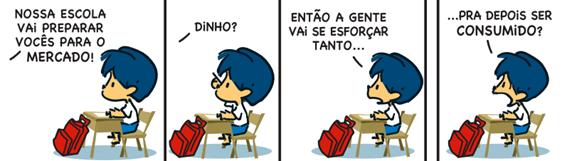 Tirinha - Piaget