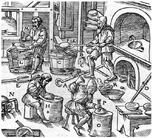 Corporação de ofício - Alta Idade média