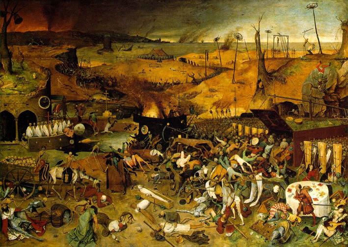 O triunfo da morte - Alta Idade Média