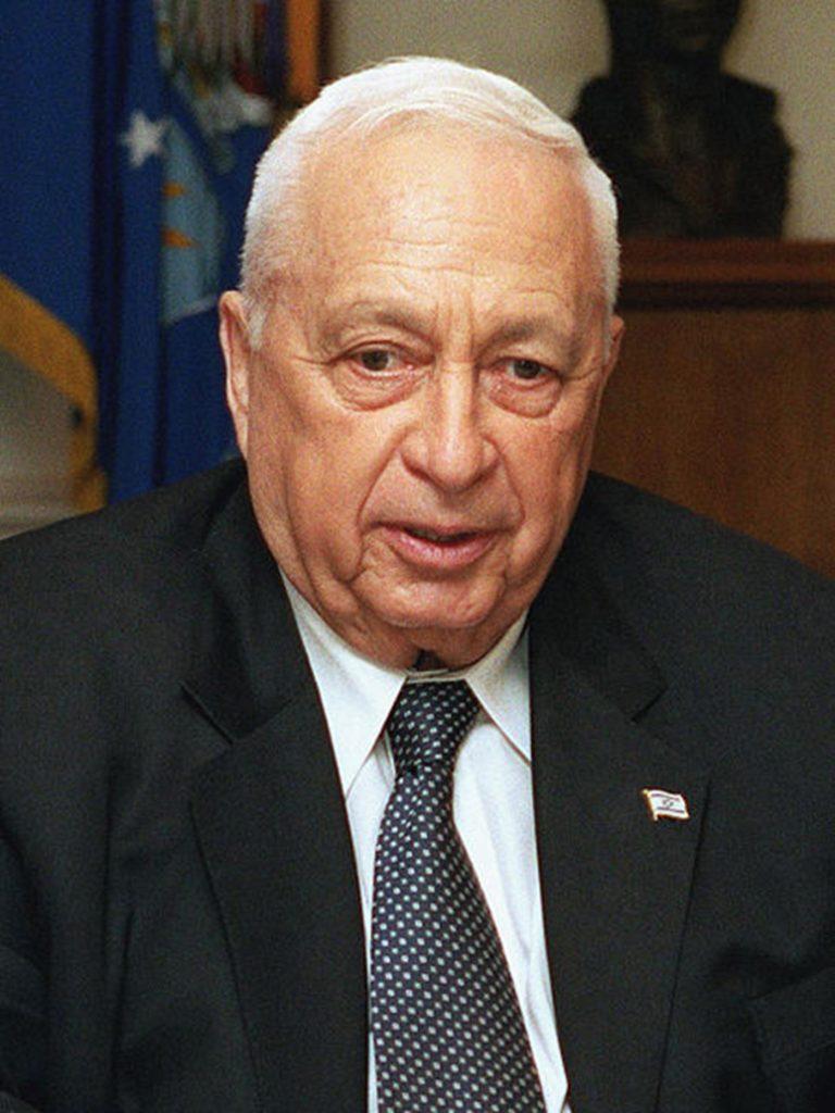 Ariel Sharon- Israel e Palestina