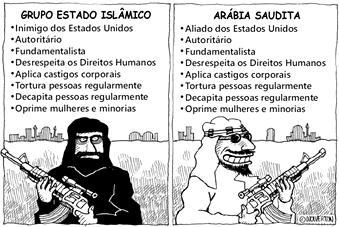 Charge Oriente Médio