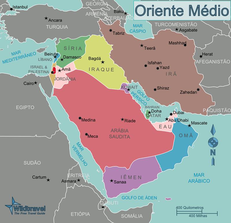 Países do Oriente Médio