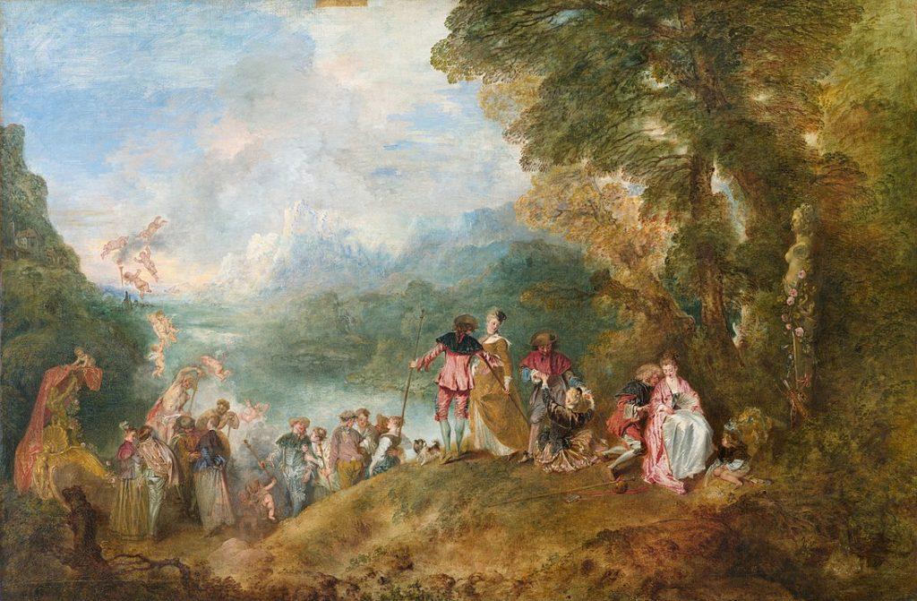 Peregrinação à Ilha de Citera - Rococó