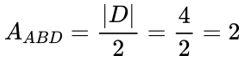 Fórmula de área de um polígono