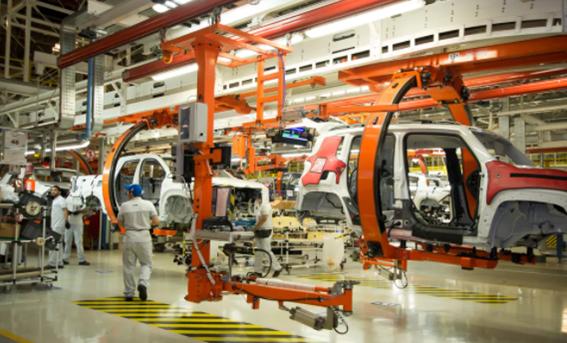 Indústria automobilística na região Sudeste