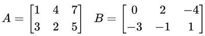 Matrizes A e B
