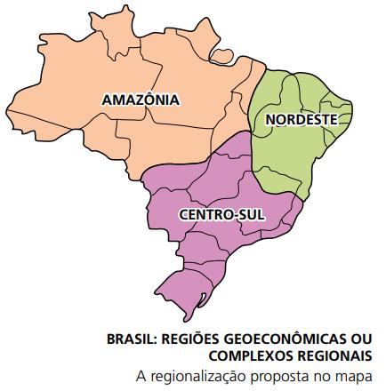 Regionalização do Brasil - Complexos regionais