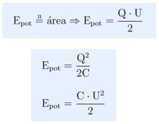 Energia potencial de um capacitor