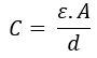 Fórmula de permissividade do dielétrico