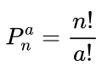 Fórmula de permutação com repetição