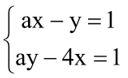 Sistemas lineares e matrizes - exercício