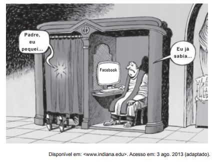 Charge Enem - Cibercultura e netativismo